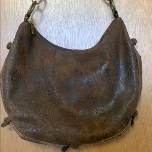 HOBO International Baggalini #206549 all leather